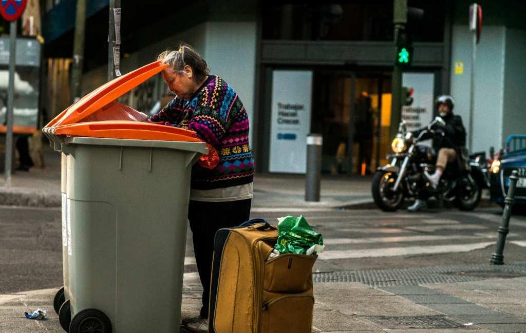 Internationale dag voor de uitroeiing van armoede in Spanje
