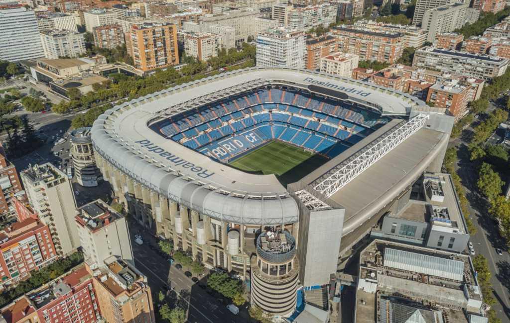 De 20 grootste voetbalstadions van Spanje op rij