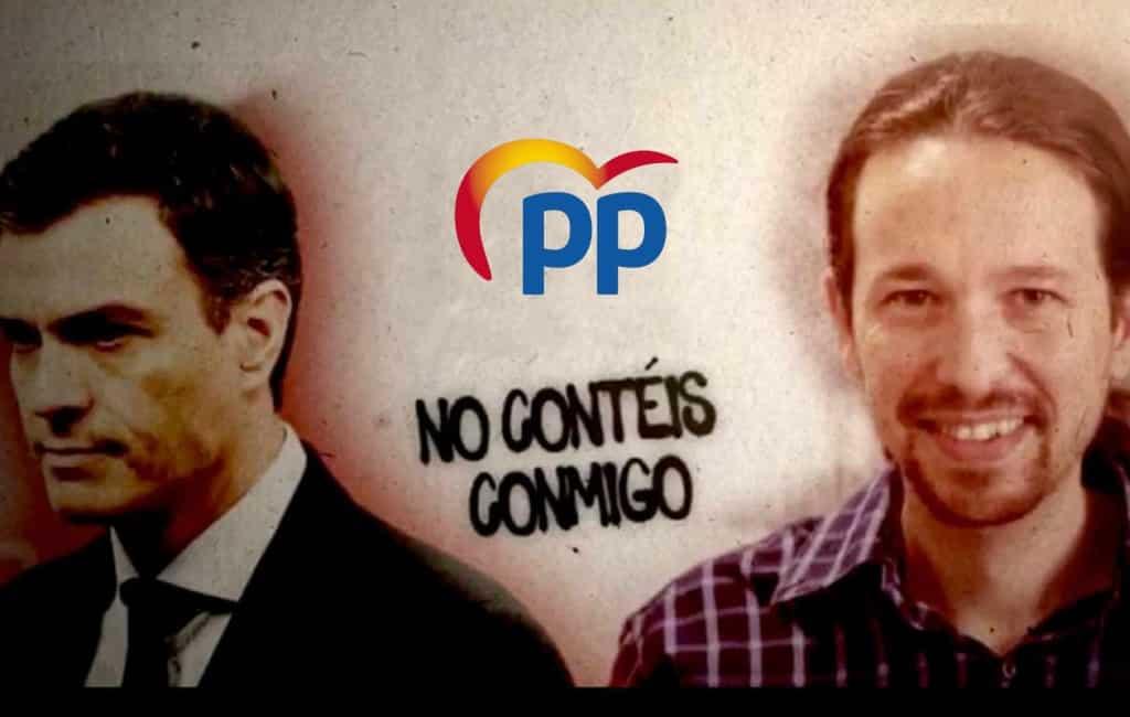 Nieuw fake news campagne van de PP om stemmen op links te ontmoedigen