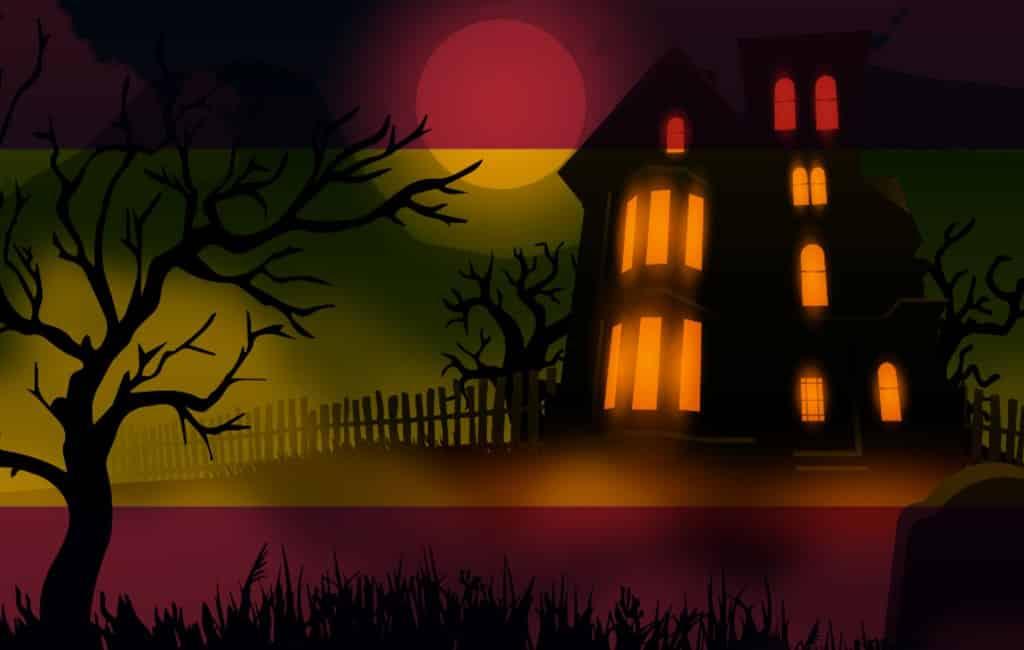 Angstaanjagende plaatsen in Spanje om Halloween te vieren