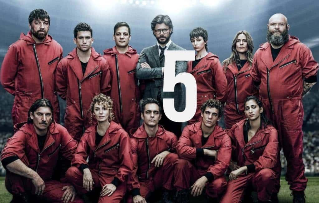 'La Casa del Papel' krijgt vijfde seizoen bij Netflix