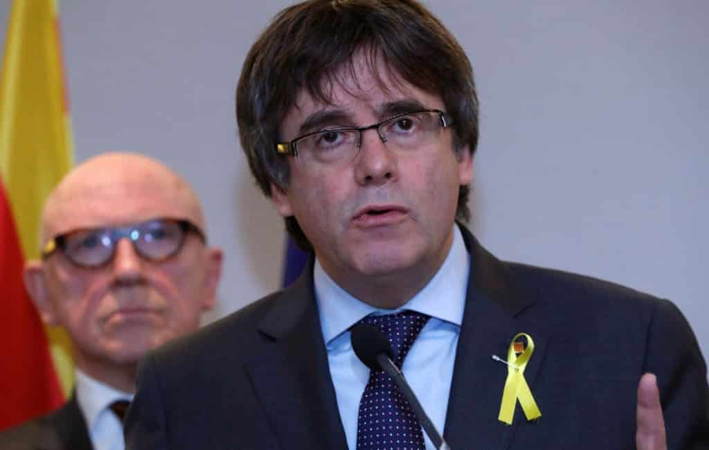 Europees aanhoudingsbevel Carles Puigdemont gereactiveerd