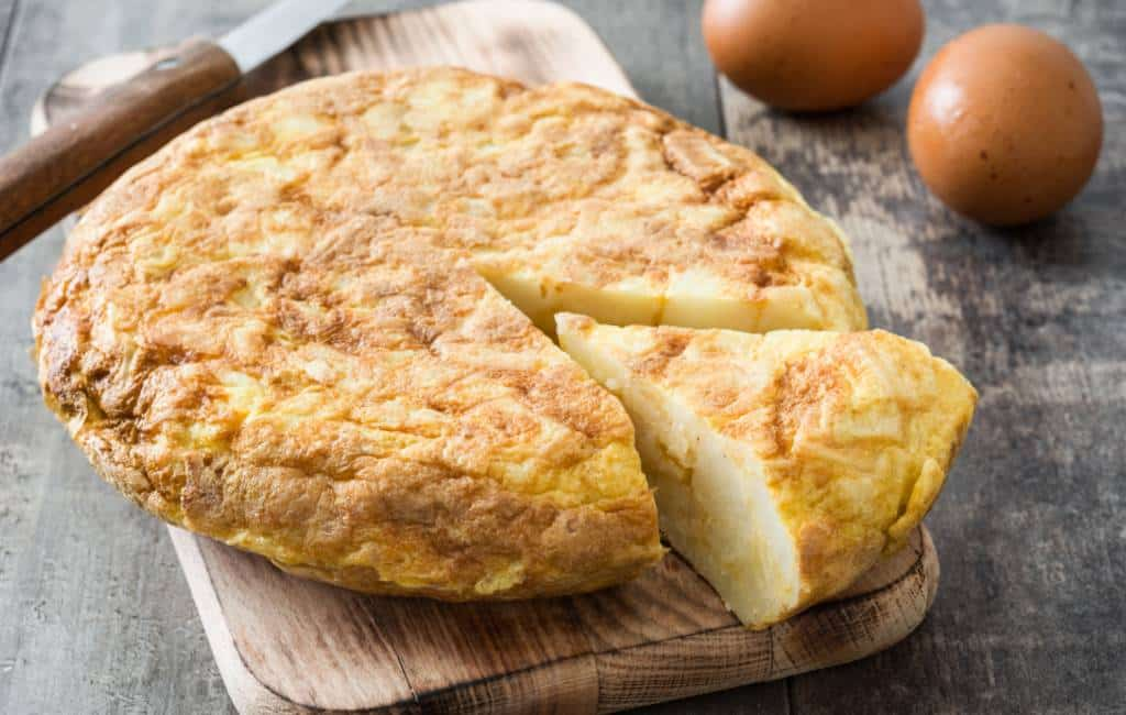 Vegetarische gerechten in het Spanje van vlees en vis specialiteiten
