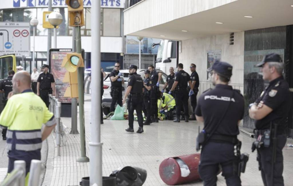 Duitse vrouw overleden na aanrijding Palma de Mallorca