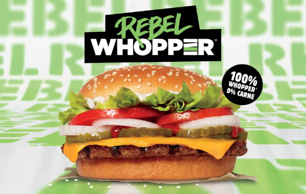 Burger King presenteert NL veggie Whopper in Spanje
