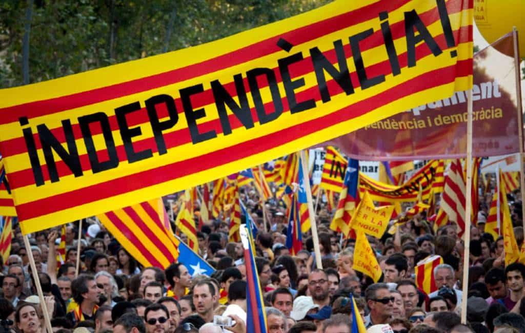 Steun voor Catalaanse onafhankelijkheid op dieptepunt