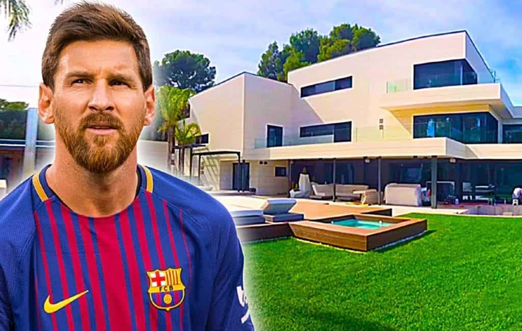 Waarom vliegtuigen niet over de woning van Messi mogen vliegen (video)