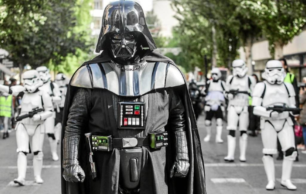 Star Wars geland op Ibiza