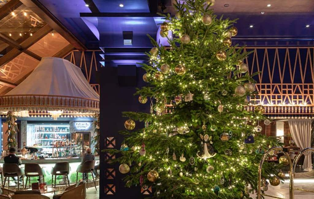 Duurste kerstboom ter wereld staat in Estepona: 11 miljoen euro