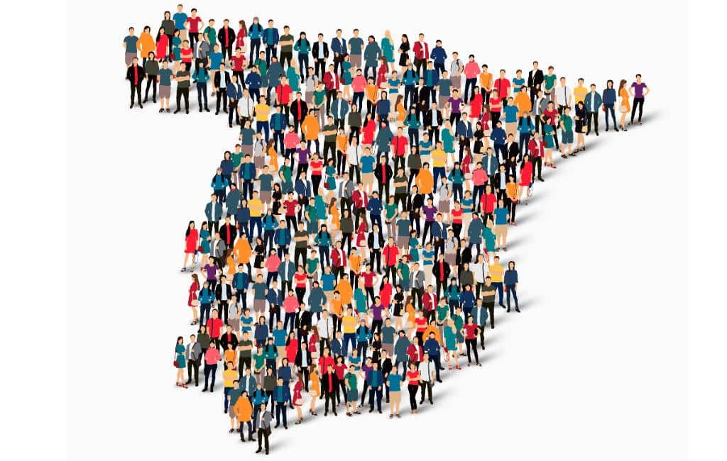 Spanje eindigt 2019 met 303.228 inwoners meer