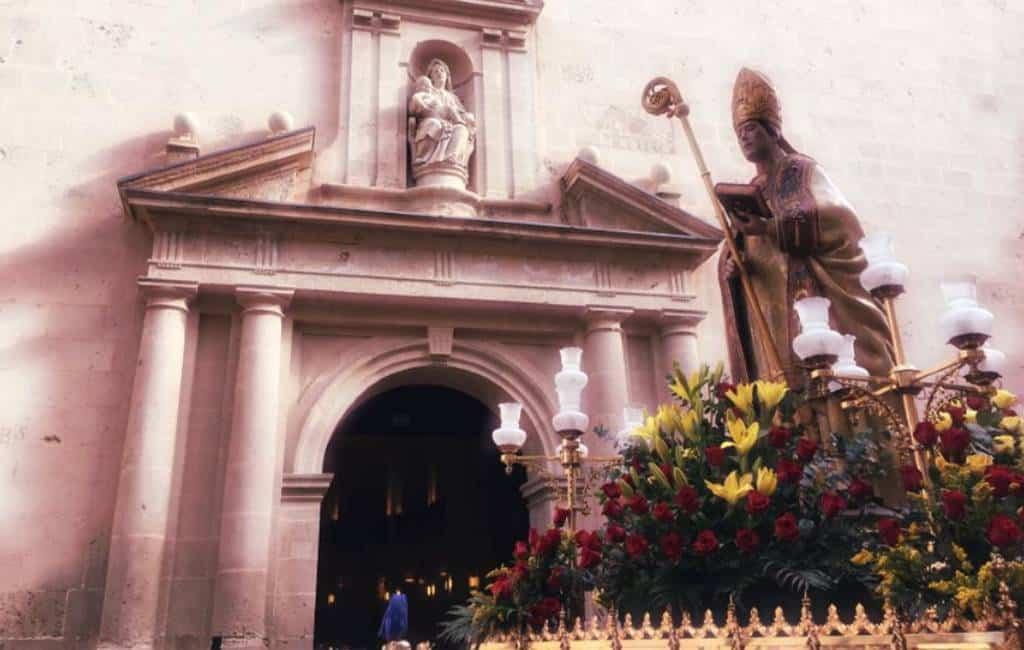 San Nicolás viering in Alicante