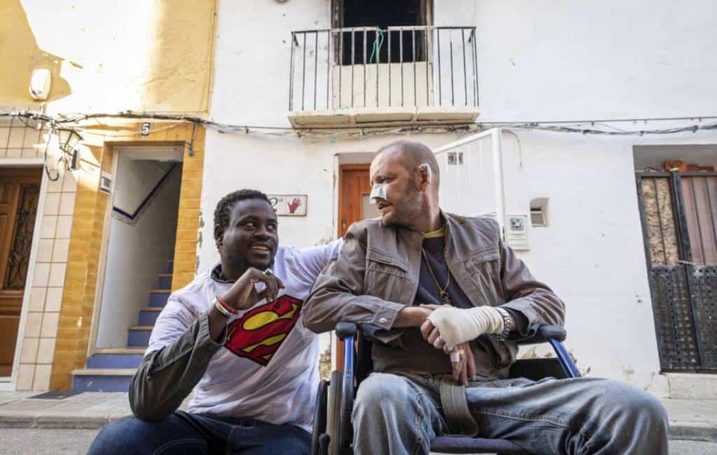 Illegale immigrant redt leven van Spanjaard bij brand in Dénia