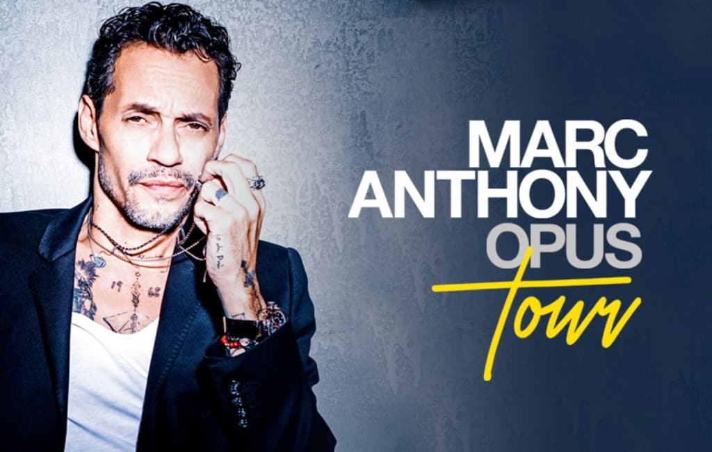 Acht concerten Marc Anthony in juni 2020 in Spanje