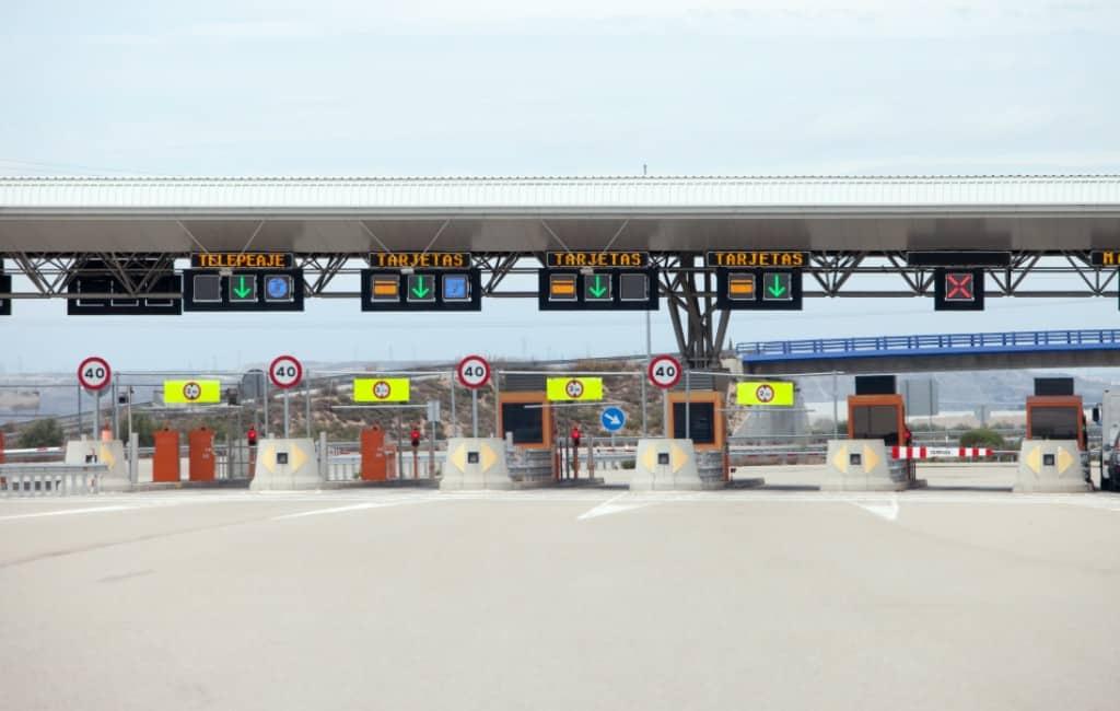 AP-7 tussen Alicante en Tarragona vanaf 31 december 22 uur tolvrij