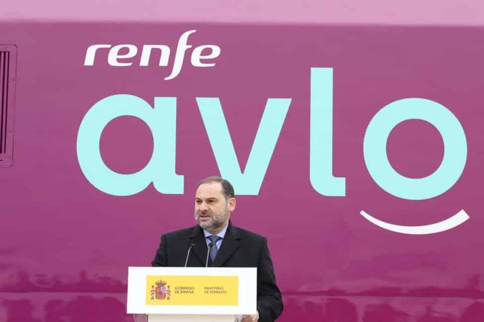 De nieuwe low cost hogesnelheidstrein van Spanje heet AVLO