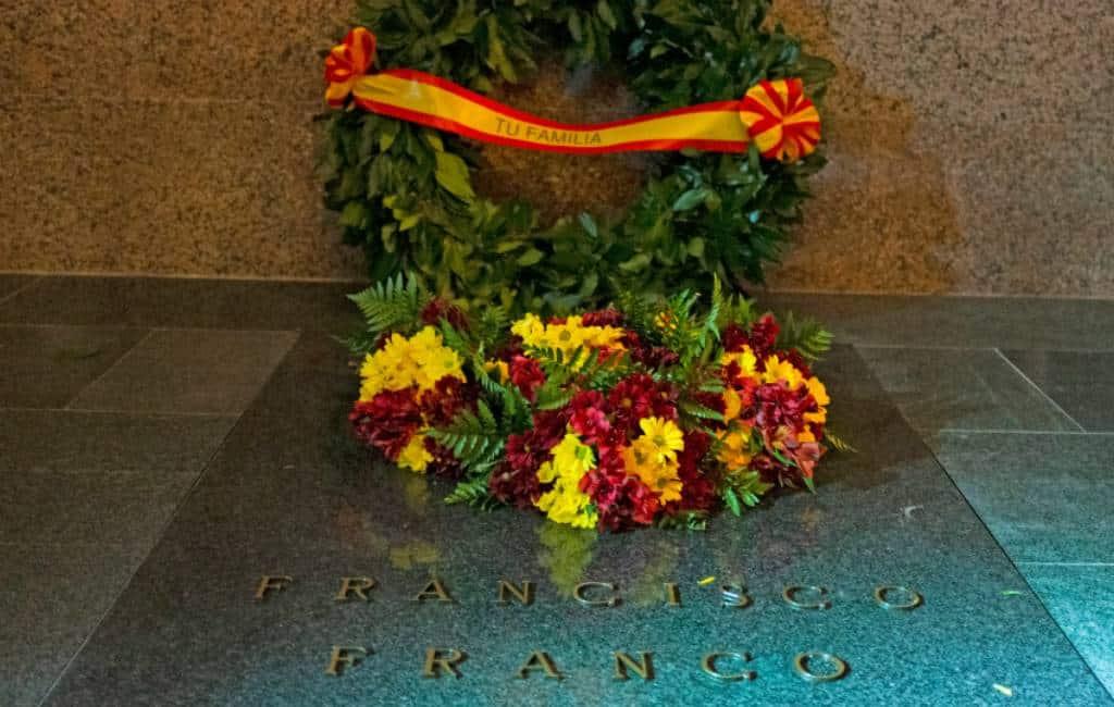 Historische dag voor Spanje: oud dictator Franco verplaatst