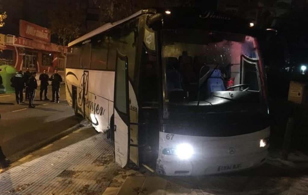 Man steelt bus en veroorzaakt veel schade in Benidorm