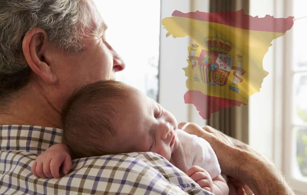 Nog nooit zo weinig kinderen geboren in Spanje