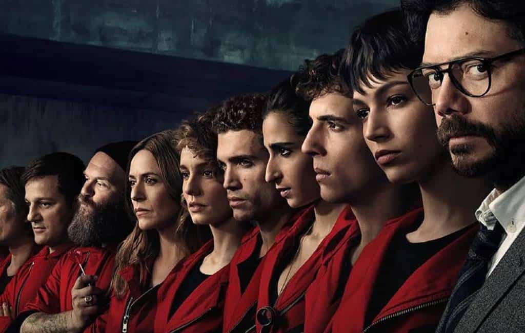 """Het tweede en succesvolle internationale leven van de Spaanse tv-serie """"La casa de papel"""" dankzij Netflix"""