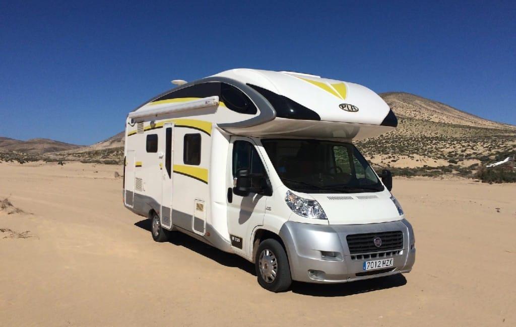 Met de camper naar de Canarische Eilanden op vakantie