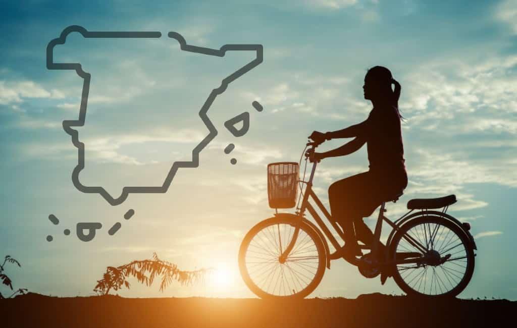 Studie over het fietsgebruik in Spanje