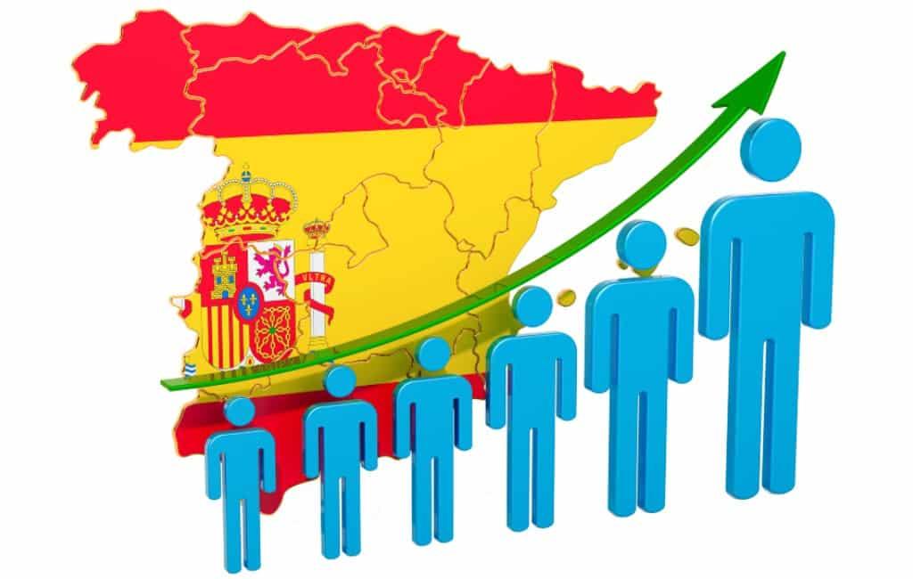 Werkloosheid Spanje gedaald met 123.600 personen