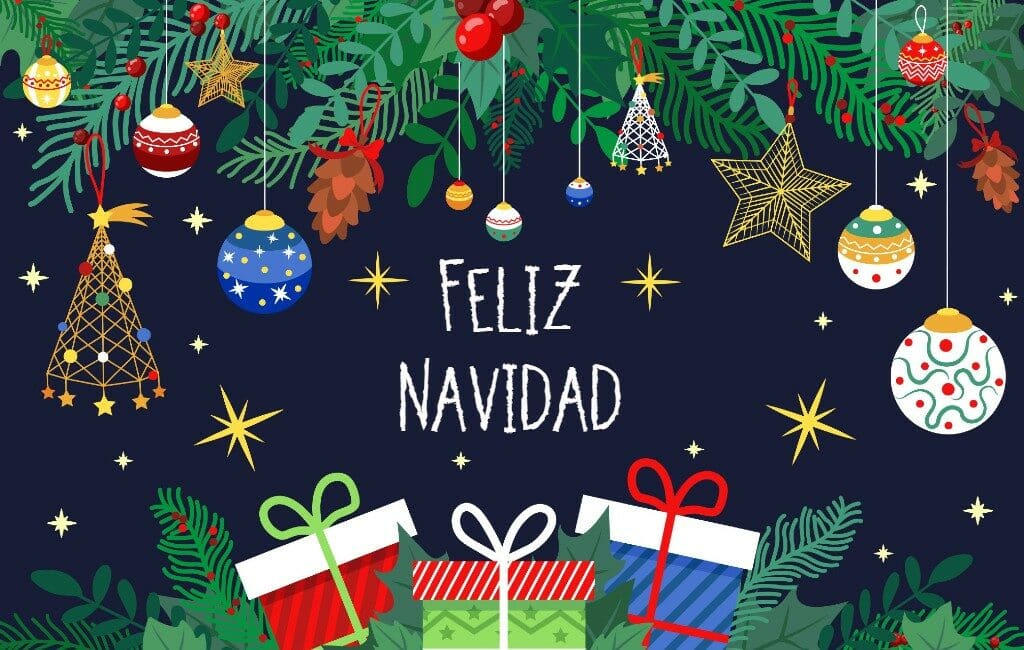 'Feliz Navidad' en Prettige Kerstdagen namens de redactie