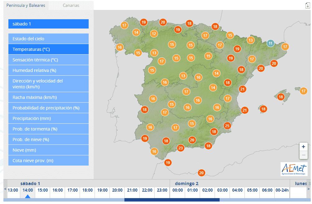 Februari begint met lenteachtig weer in heel Spanje