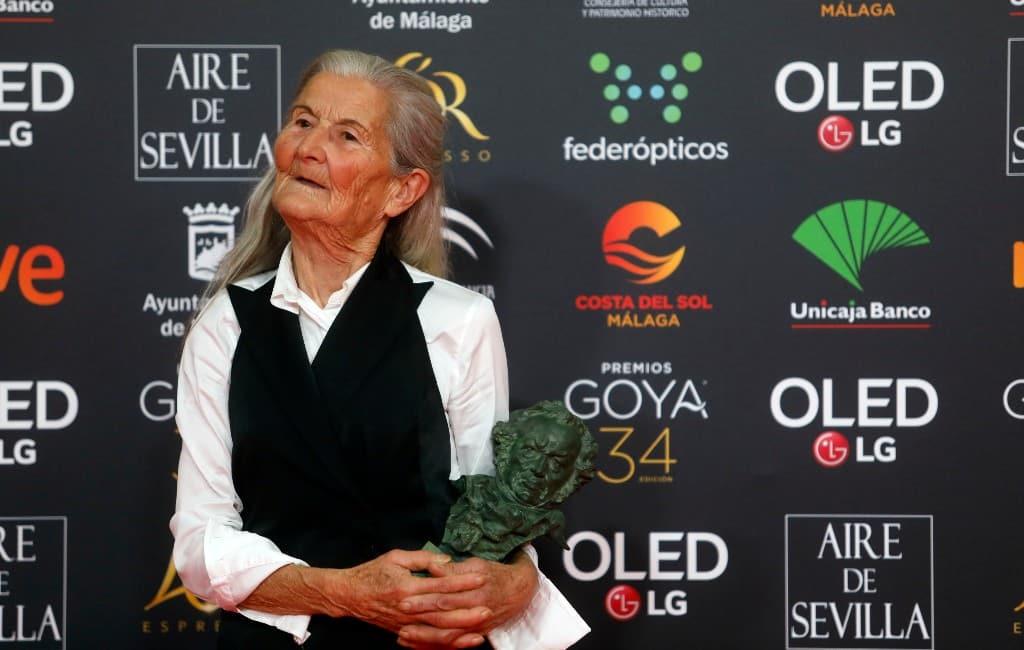 84-jarige onervaren actrice uit Galicië krijgt Goya filmprijs