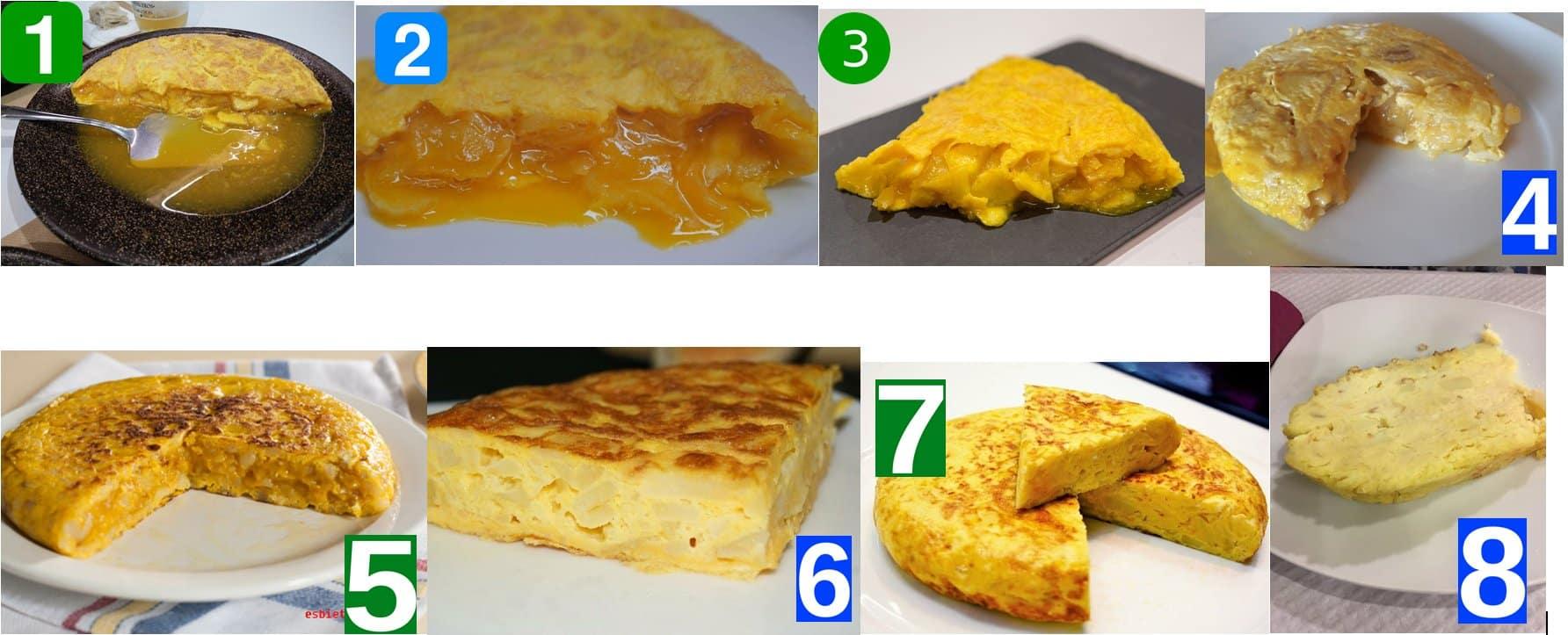 Tortilla de patatas: ¿Muy hecha of poco hecha? dat is de vraag