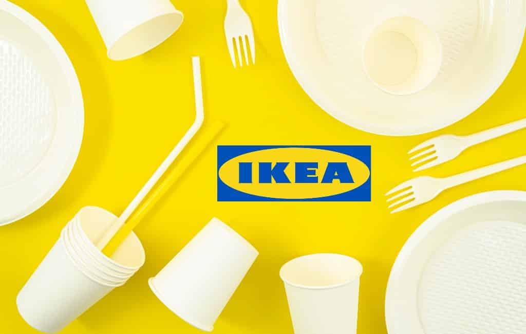Geen plastic voor eenmalig gebruik meer bij Ikea Spanje