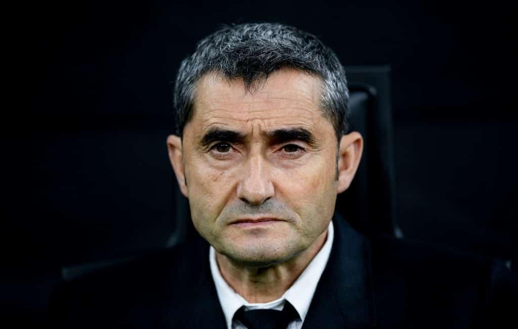 Trainer FC Barcelona vervangen