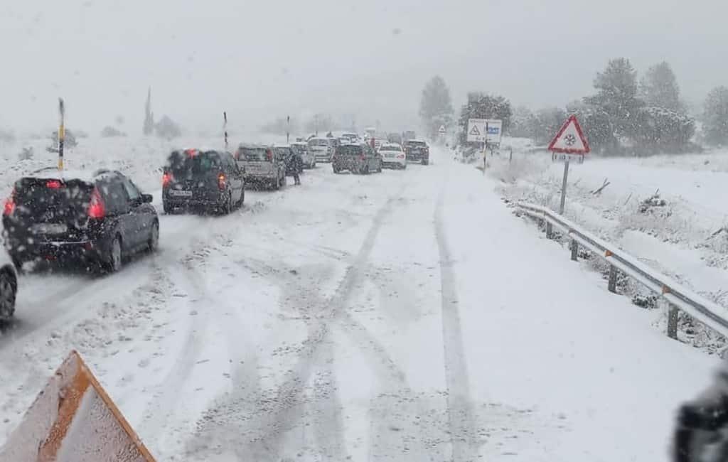 Eerste sneeuw gevallen in Murcia, Alicante, Valencia en Castellón