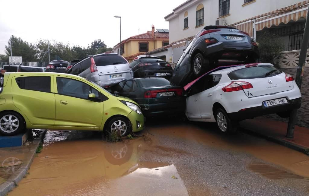 Opnieuw schade en overlast door noodweer provincie Málaga
