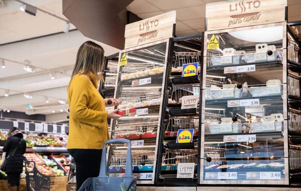 Lidl Spanje begint met de verkoop van kant-en-klaar maaltijden