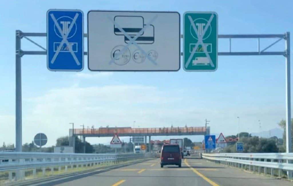 Verkeer op tolvrije AP7 tussen Alicante-Valencia is verdubbeld