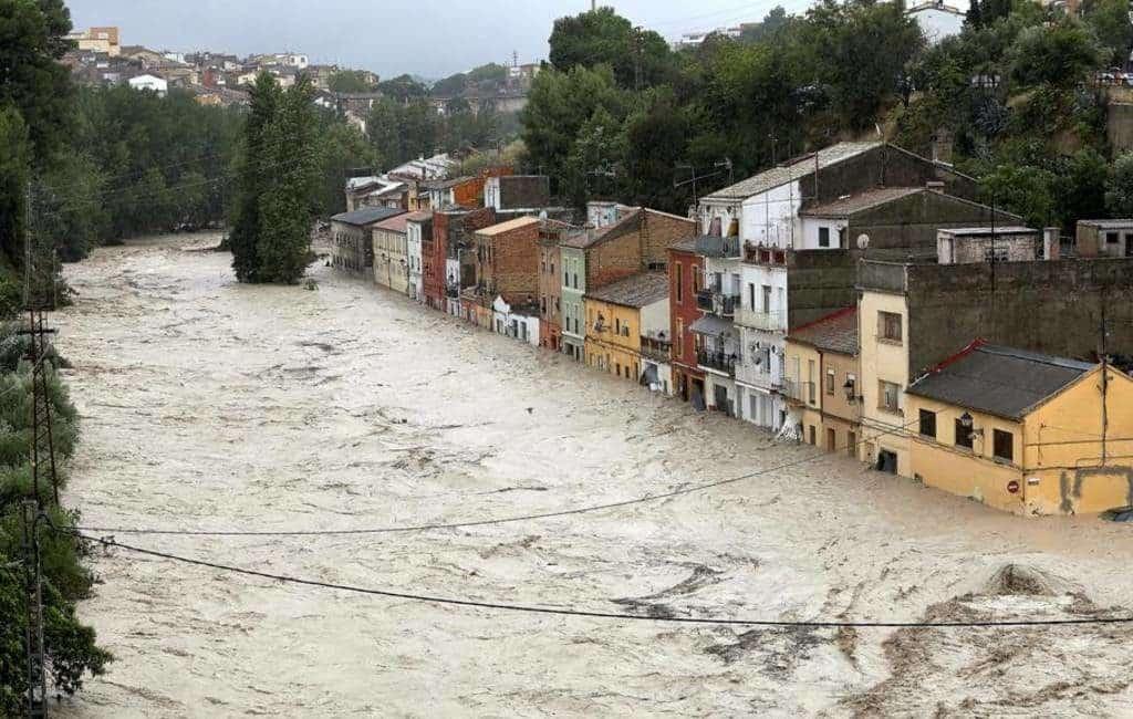 Ontinyent wil huizen afbreken om rivier meer ruimte te geven