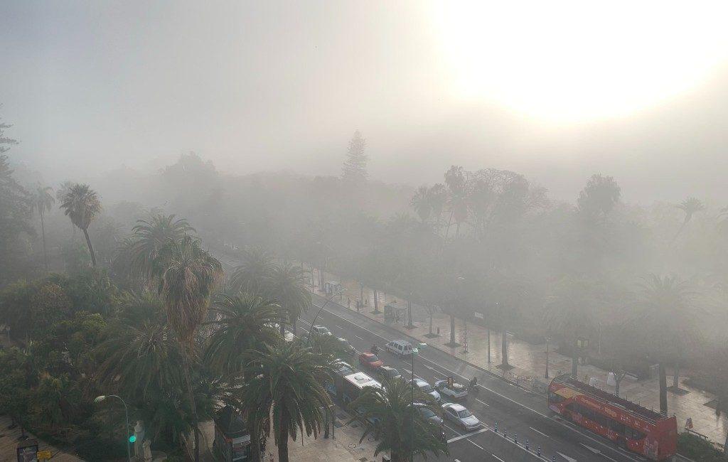 Winterse 'taró' mist in Málaga