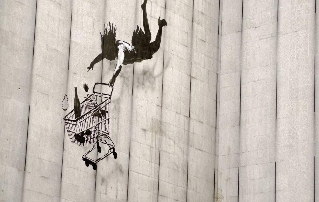 100 Banksys in Barcelona te zien