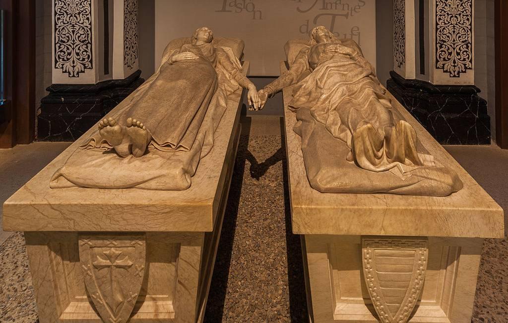 Spanje's Romeo en Juliet in Teruel: Los amantes Diego en Isabel