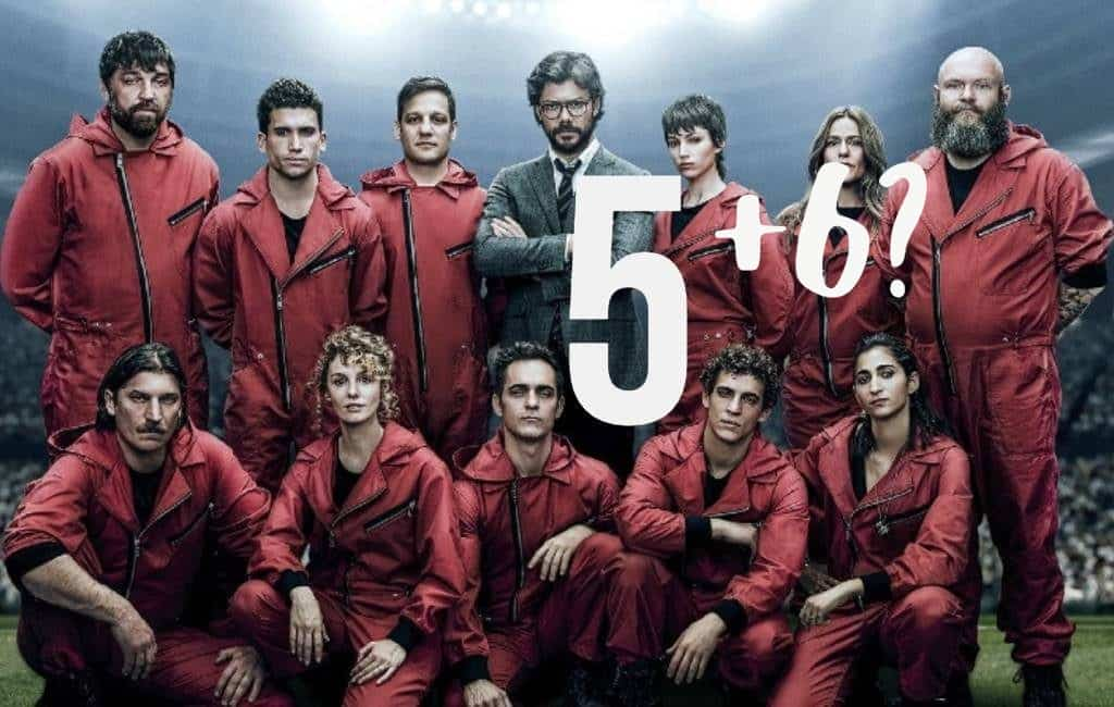 Krijgt La Casa del Papel naast het vierde en vijfde ook een zesde seizoen?