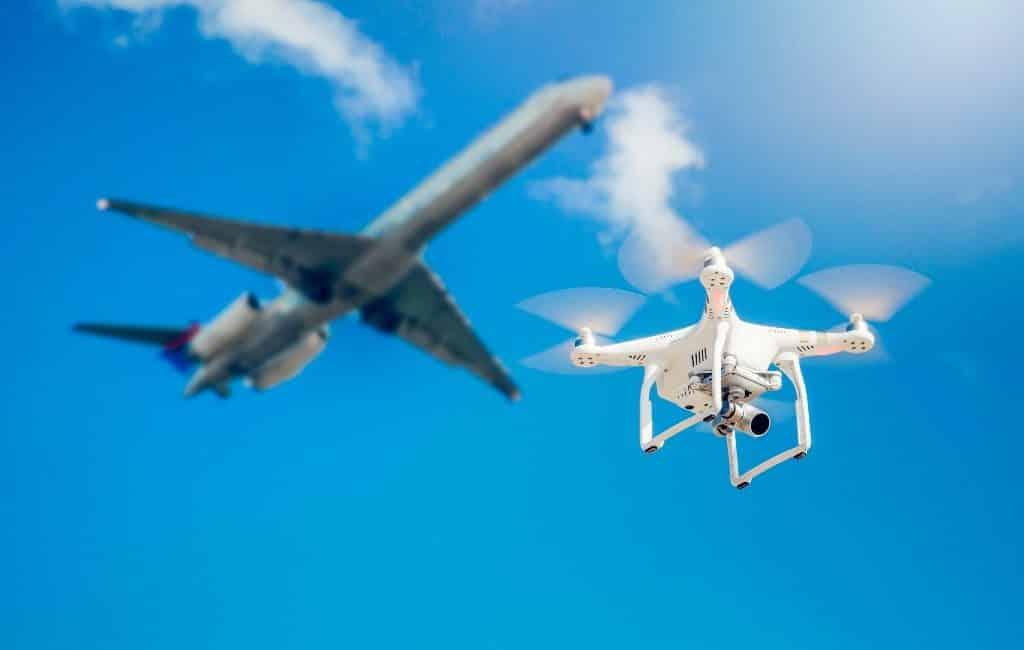 Vliegveld Madrid gesloten vanwege drone(s)
