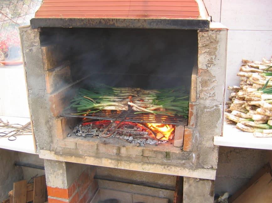 Februari is 'calçots' tijd in Catalonië