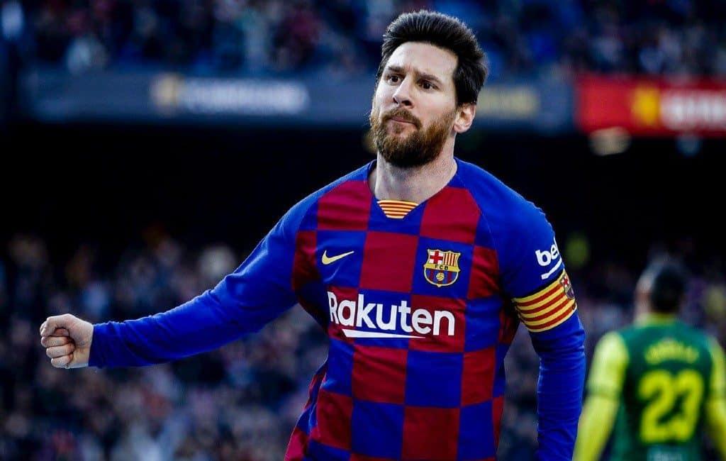 Messi ontkent gerucht over weigering salarisverlaging