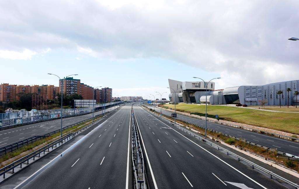 Het goede nieuws van de noodtoestand in Spanje: minder luchtvervuiling