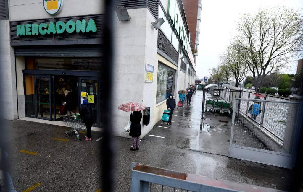 Marktaandeel Mercadona tijdens noodtoestand flink gestegen