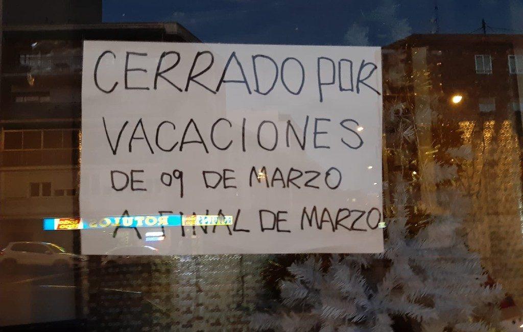 Chinese winkels en WOK restaurants dicht vanwege coronavirus in Spanje