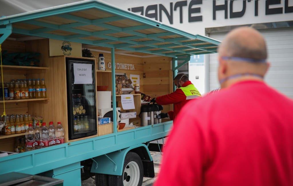Vrachtwagenchauffeurs Spanje hebben het moeilijk tijdens noodtoestand
