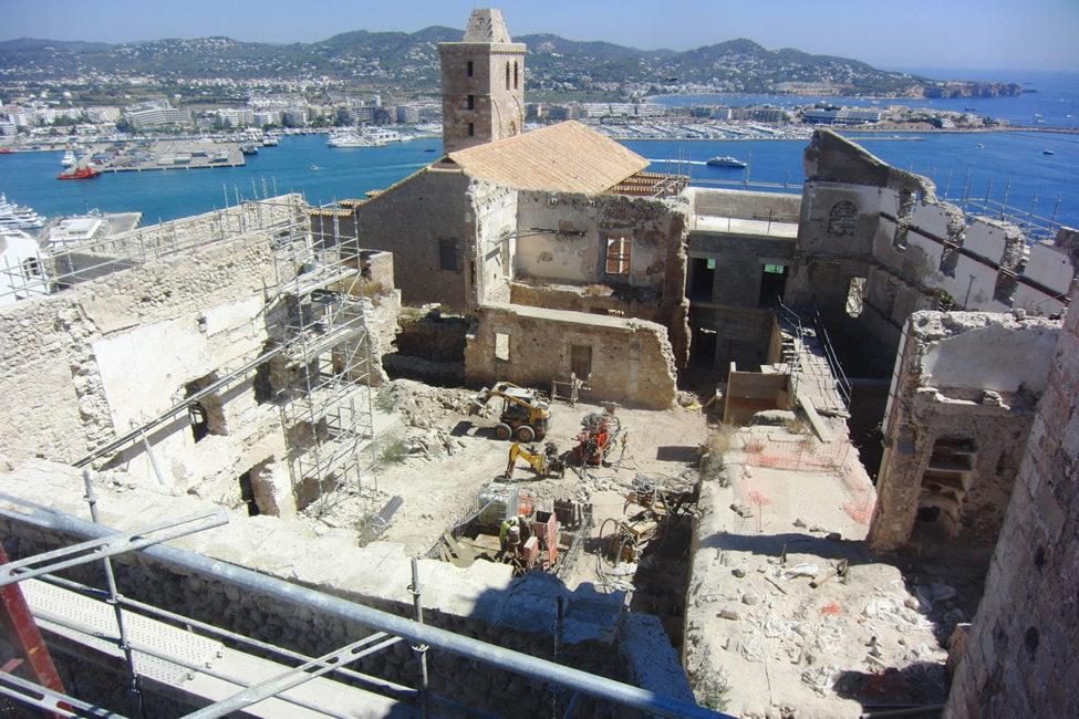 In 2022 moet de Parador van Ibiza haar deuren openen