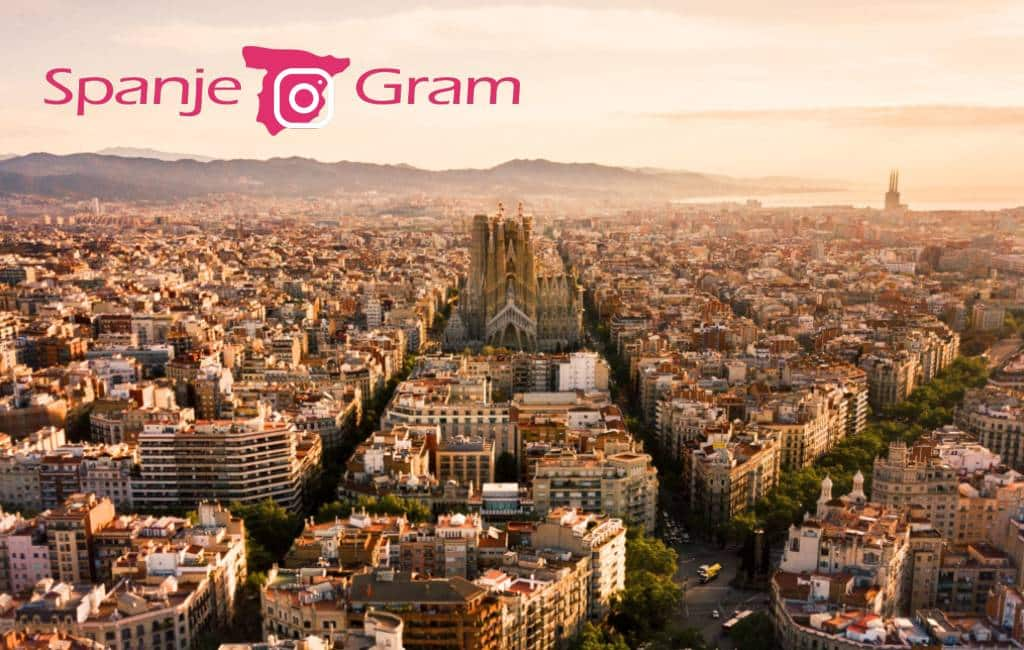 SpanjeGram: Barcelona op corona-veilige afstand vanuit de lucht